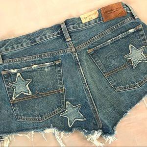 74dbf7f9e Denim   Supply Ralph Lauren Shorts - New Ralph Lauren Distressed Patchwork  Jean Shorts